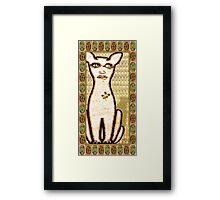 Cat Eyes Framed Print