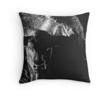 Black Cows Throw Pillow
