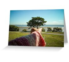 Holding The Tree By Matthew Lys Greeting Card