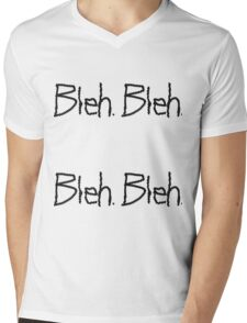 A Very Bleh Day Mens V-Neck T-Shirt
