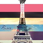 Paris tower by deviloblivious