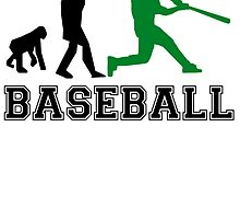 Baseball Batter Evolution (Green) by kwg2200