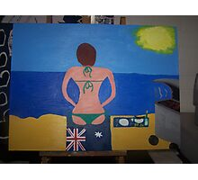 Australian Babe's Beach Barbie Photographic Print