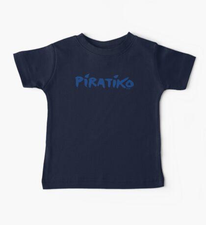 Greece Piratiko v1 : Blue Brush Baby Tee