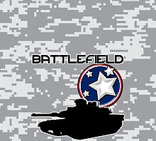 Battlefield - Abrams Hammer by MarkSeb