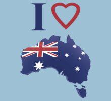 I love Australia by refreshdesign