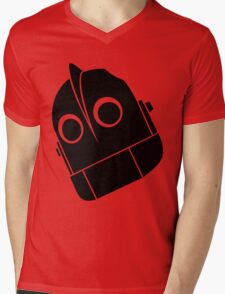 Iron Giant Vector Mens V-Neck T-Shirt