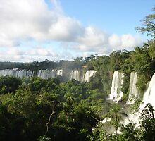 Iguazu falling by Pamnani  Photography