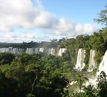 Iguazu falling by Pamnani  Photography