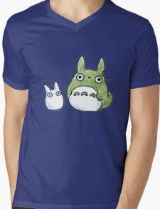 Totoro  Chibi Mens V-Neck T-Shirt
