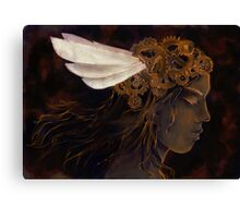 Clockwork Crown Canvas Print