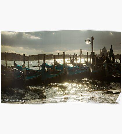 Venezia Gondolas Poster