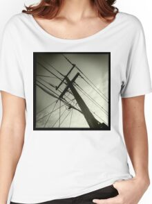 power lines Women's Relaxed Fit T-Shirt