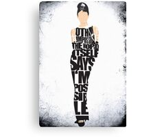 Audrey Hepburn - The Breakfast at Tiffany's Canvas Print
