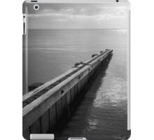 the break water 03 iPad Case/Skin