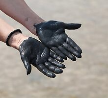 hands in black mud by mrivserg