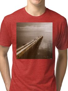 the break water 06 Tri-blend T-Shirt