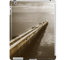 the break water 06 iPad Case/Skin