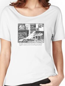 Kangaroo in the Library Women's Relaxed Fit T-Shirt