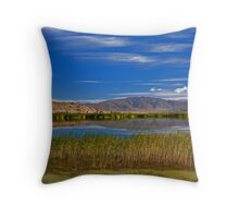 Koktokay Lake Throw Pillow