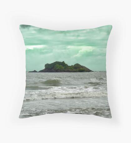 Struck Island Throw Pillow