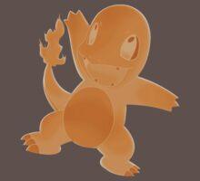 Charmander Pokémon Shirt by Jackydile