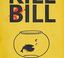 Kill Bill Minimalist Poster by TJ Ruesch