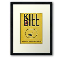Kill Bill Minimalist Poster Framed Print