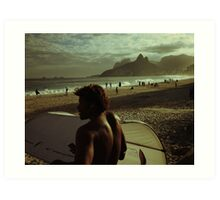 Ipanema Beach Art Print