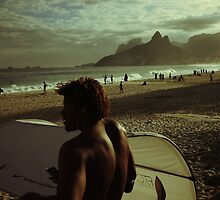Ipanema Beach by hausofsilva