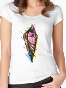 shankh Women's Fitted Scoop T-Shirt