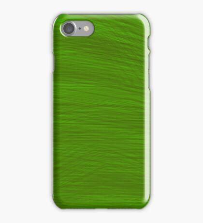 Dark Green Brush iPhone Case/Skin
