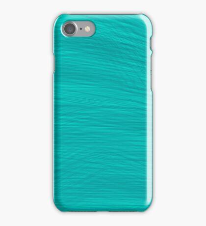 Cyan Brush iPhone Case/Skin