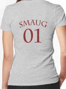 SMAUG 01 Women's Fitted V-Neck T-Shirt