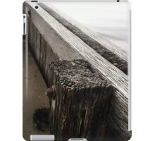 the break water 01 iPad Case/Skin