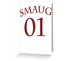 SMAUG 01 Greeting Card