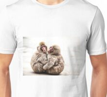 Snow Monkeys - Jigokudani Monkey Park, Japan Unisex T-Shirt
