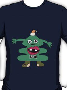 New Year Tree Cute Monster T-Shirt