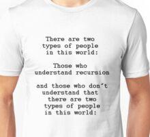 Recursion (Light background) Unisex T-Shirt