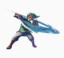 Link with sword 3 One Piece - Long Sleeve