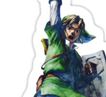 Link with sword 4 Sticker