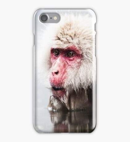 Snow Monkey - Jigokudani Monkey Park, Japan iPhone Case/Skin