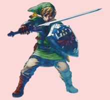Link with sword 5 One Piece - Long Sleeve