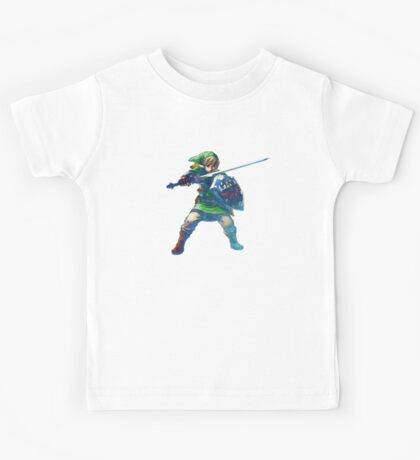 Link with sword 5 Kids Tee