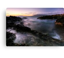 Drifting light, Maui Canvas Print