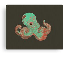 Camouflage of the Octopi Canvas Print