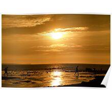 A stunning sunset Poster