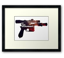 The Scoundrel Framed Print