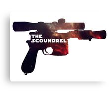 The Scoundrel Canvas Print