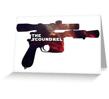 The Scoundrel Greeting Card